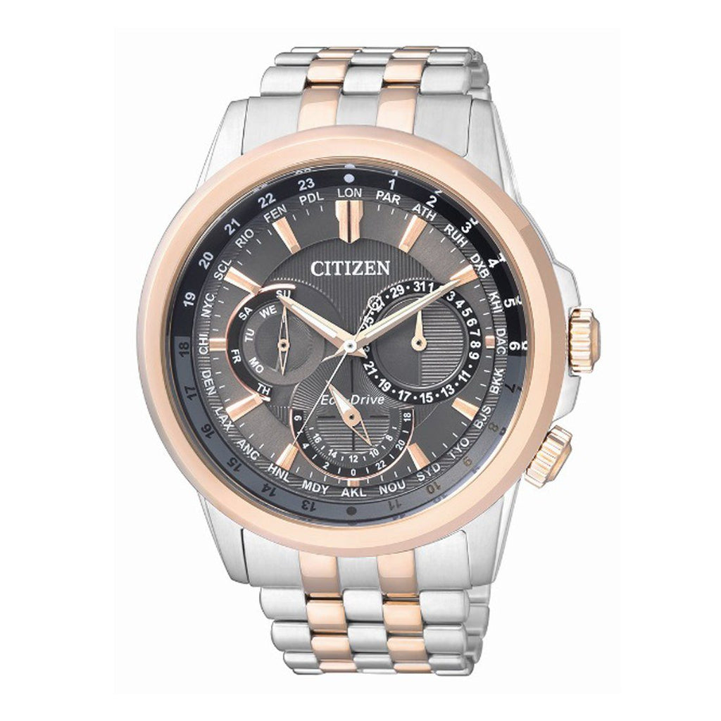 Citizen Eco Drive Two Tone Watch BU2026-65H Watches Citizen