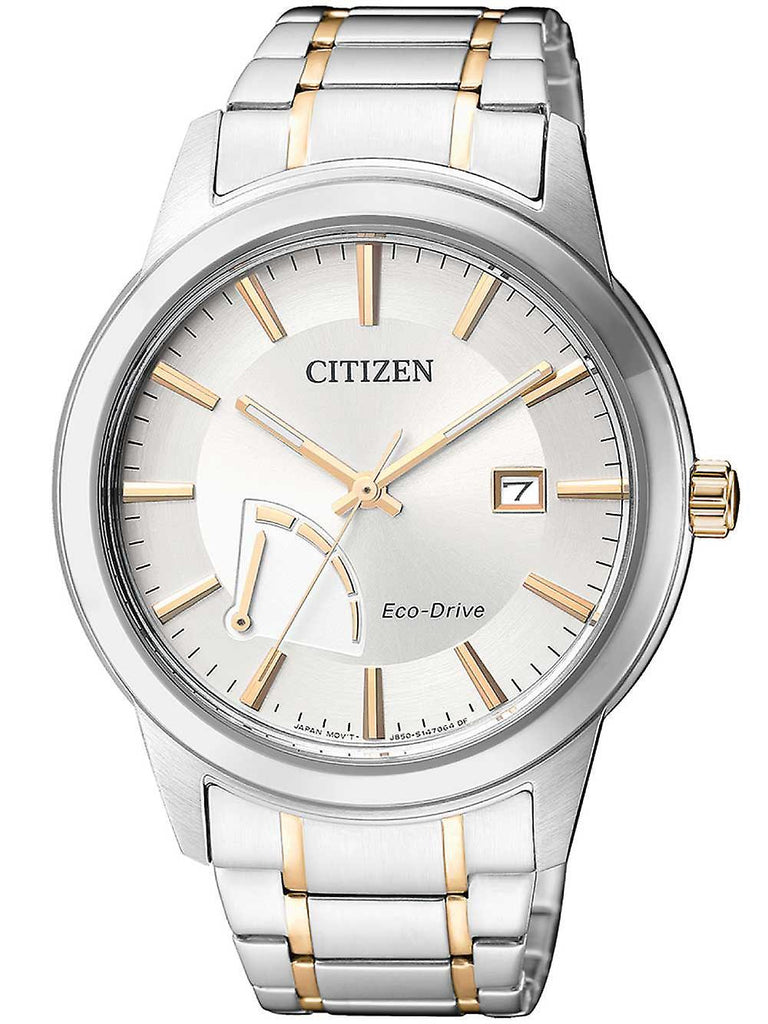 Citizen Eco Drive Two Tone Men's Watch AW7014-53A Watches Citizen