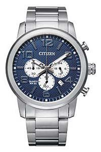 Citizen Chronograph Blue and Silver Men's Watch AN8050-51M Watches Citizen