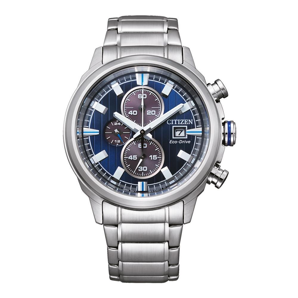 Citizen EcoDrive Men's Chronograph Watch CA0731-82L Watches Citizen