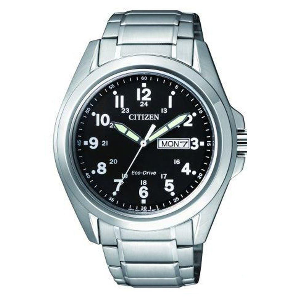 Citizen Eco Drive Silver Watch AW0050-58E