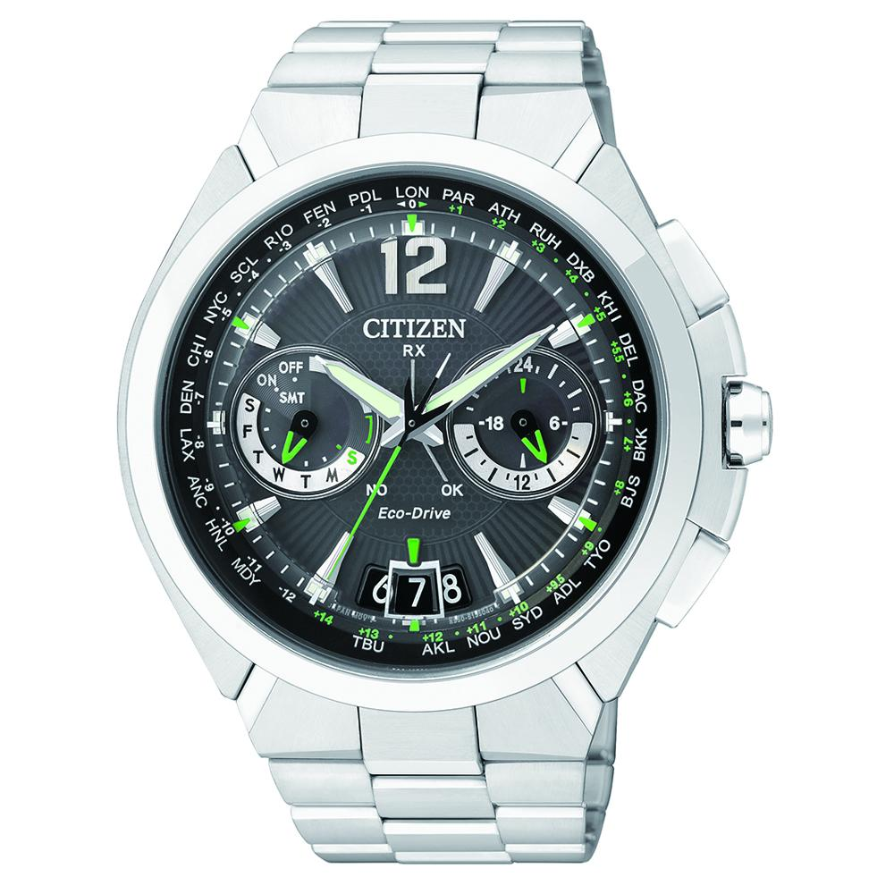 Citizen Eco-Drive SATELLITE WAVE GPS Watch CC1090-52F Waches Citizen