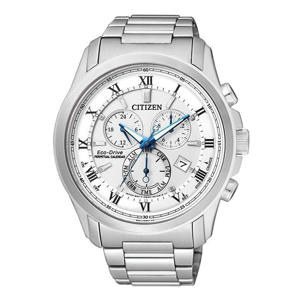 Citizen Eco-Drive Men's Chronograph Watch BL5540-53A Waches Citizen