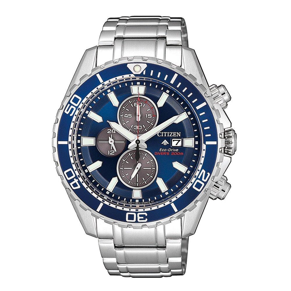 Citizen Promaster Eco-Drive Silver Watch CA0710-82L Watches Citizen