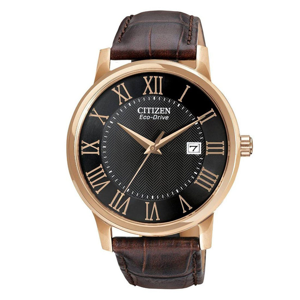 Citizen Eco-Drive Solar Leather Men's Watch BM6759-03E