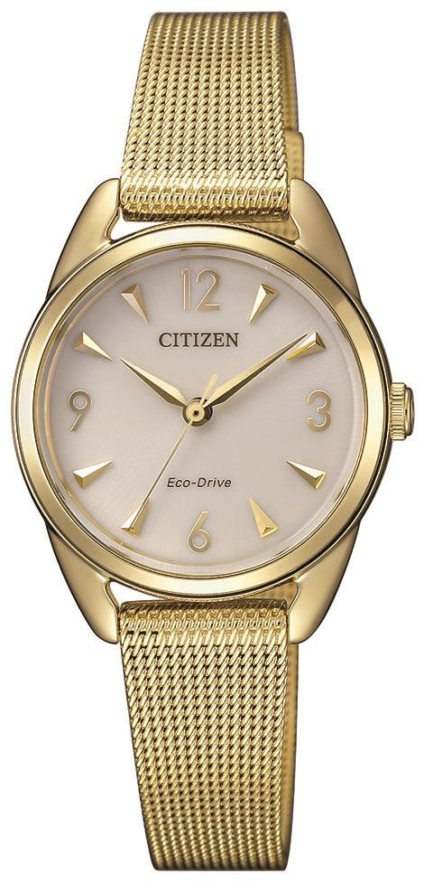 Citizen Ladies Eco Drive Gold Watch EM0687-89P