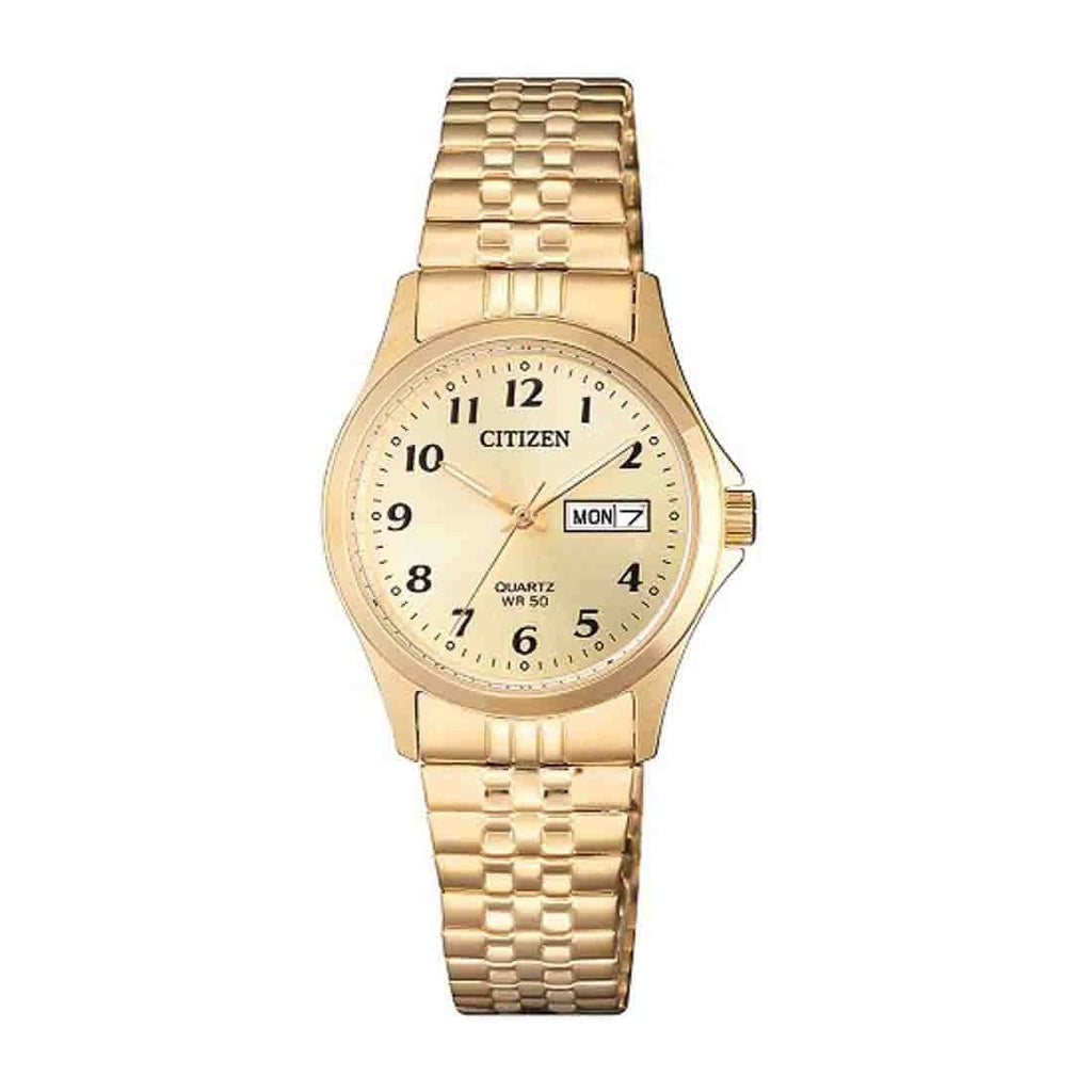 Citizen Ladies Gold Watch Model EQ2002-91P