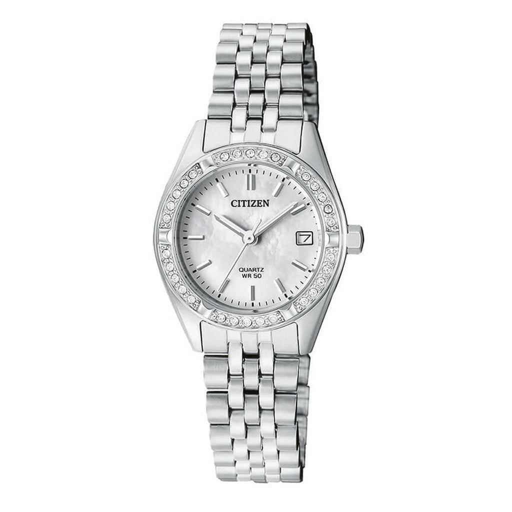 Citizen Ladies Stone Set Watch EU6060-55D