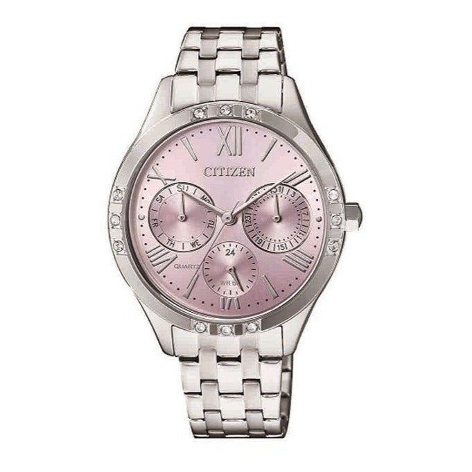 Citizen Lades Pink Dial Watch ED8170-56X Watches Citizen
