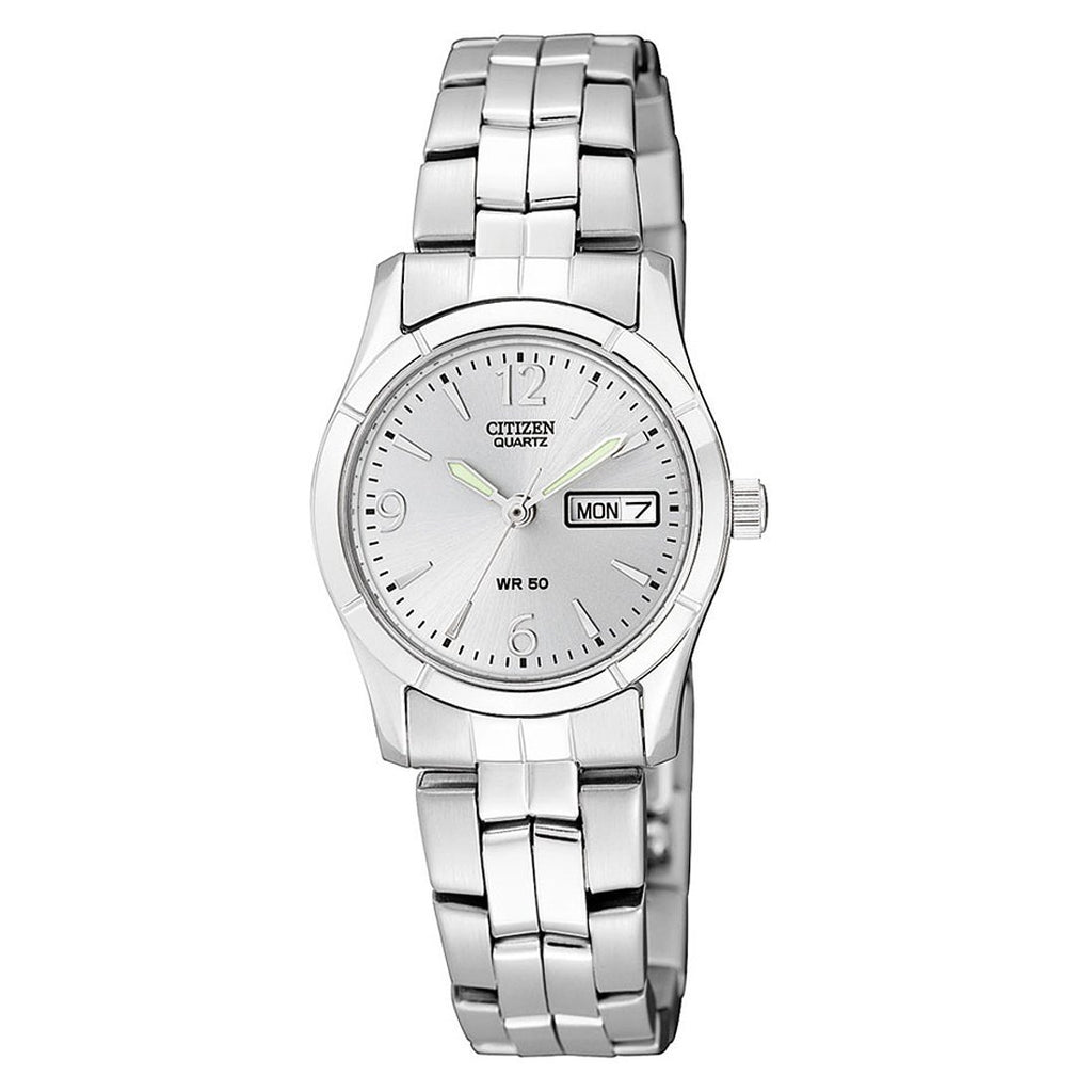 Citizen Stainless Steel Silver Ladies Watch EQ0540-57A Watches Citizen