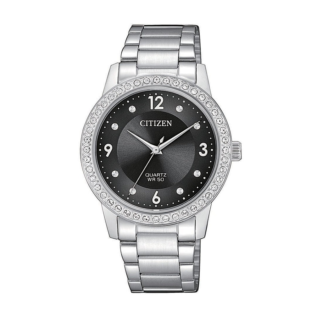 Citizen Ladies Crystal Set Watch EL3090-81H