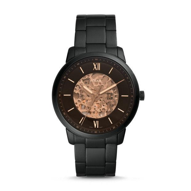 Fossil Neutra Black Analogue Watch Watches Fossil