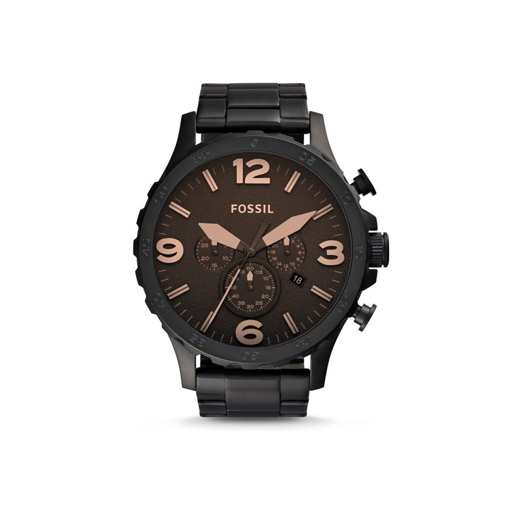 Fossil Nate Men's Chronograph Watch JR1356 Watches Fossil