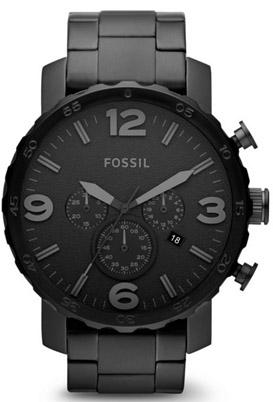 Fossil Men's Chronograph Watch Model-JR140 Watches Fossil