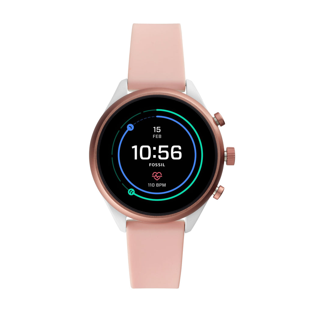 Fossil Sport Smartwatch Blush Silicone FTW6022P