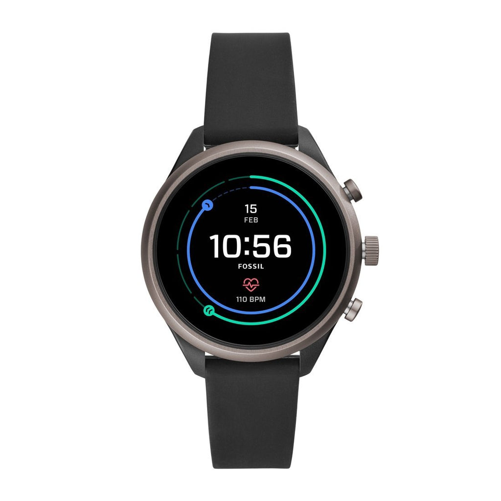Fossil Sport Smartwatch Black Silicone FTW6024P