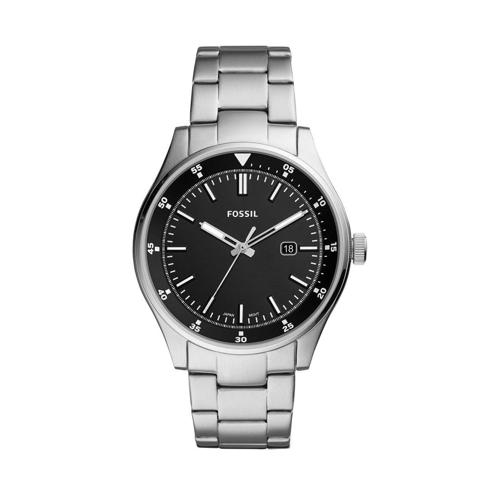 Fossil Belmar Silver Mens Watch FS5530 Watches Fossil
