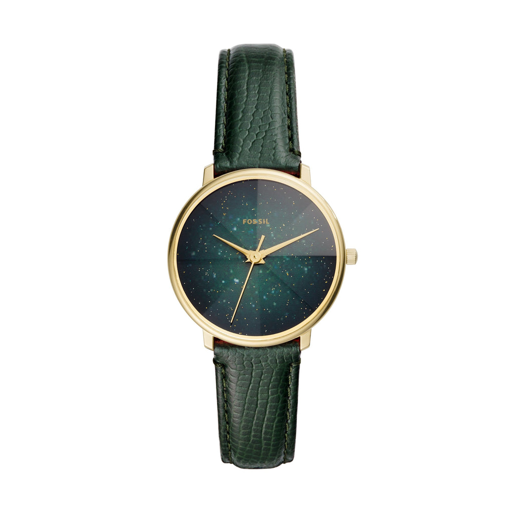 Fossil Prismatic Galaxy Green Watch ES4730 Watches Fossil