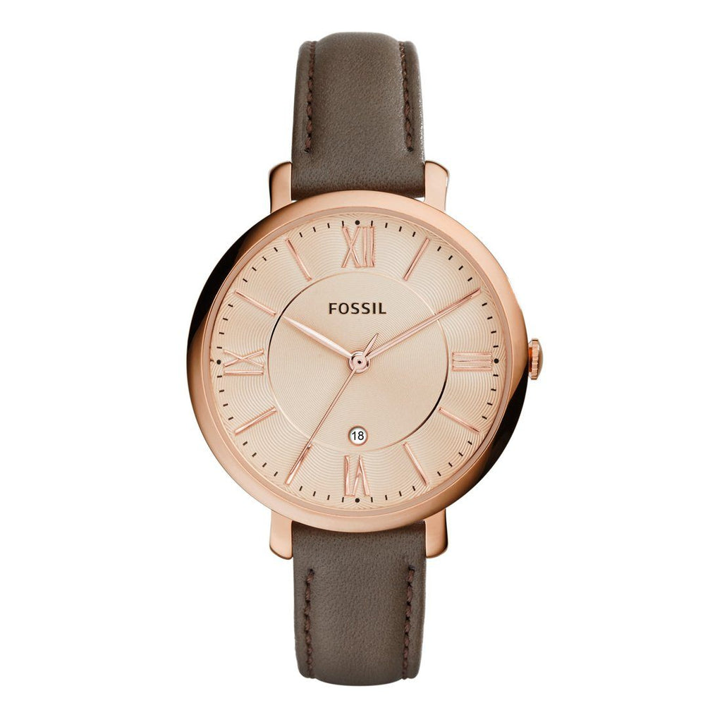Fossil Ladies Pink Face Watch ES3707 Watches Fossil