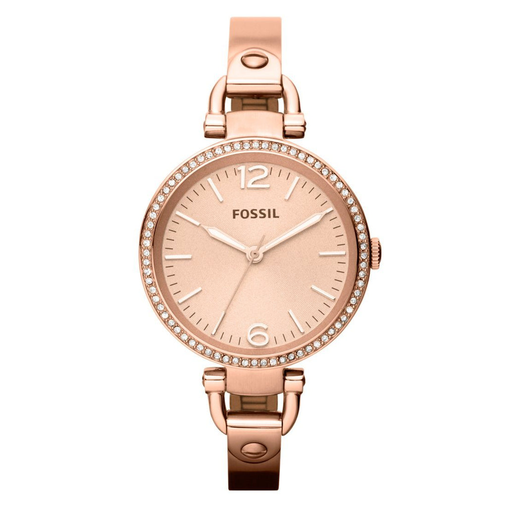 Fossil Ladies Rose Gold Watch Model- ES3226 Watches Fossil