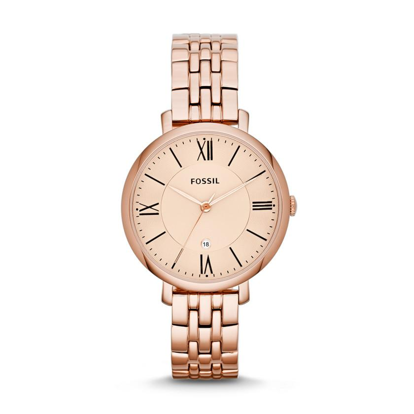 Fossil Ladies Rose Gold Watch Model- ES3435 Watches Fossil