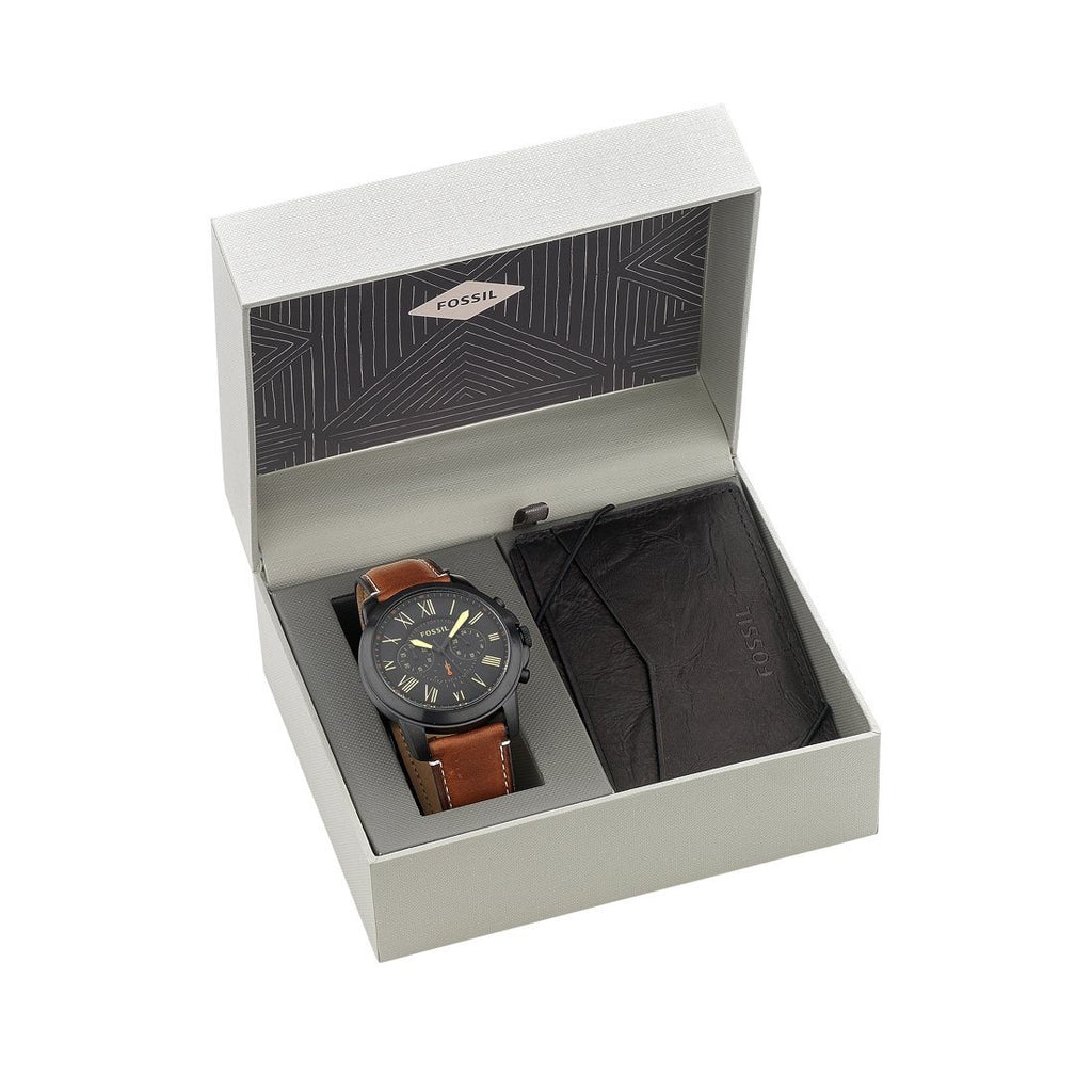 Fossil Grant Gift Set FS5335SET Watches Fossil