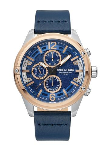Police Multifunction Rose Watch PL.15665JSTR/03 Watches Police