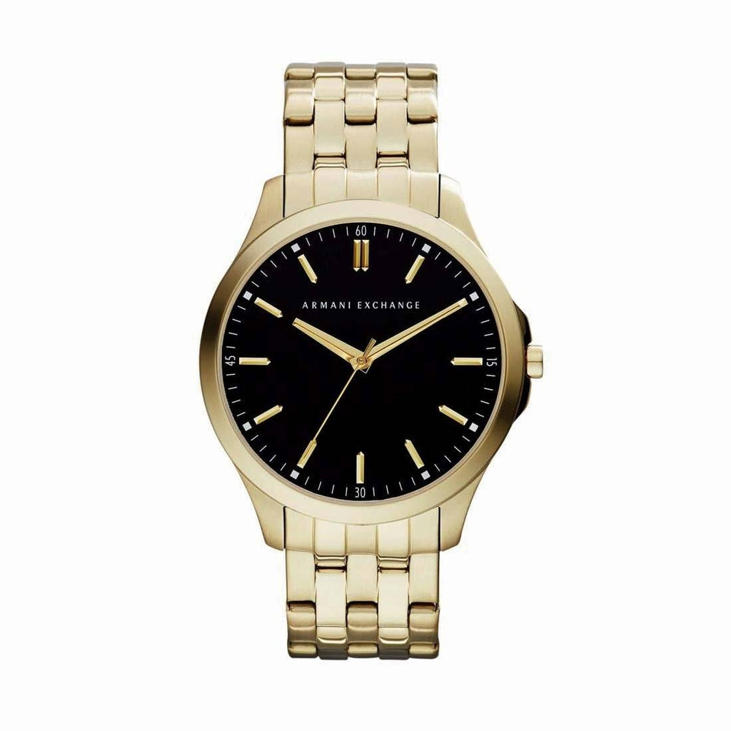 Armani Exchange Mens Gold Watch AX2145 Watches Armani Exchange