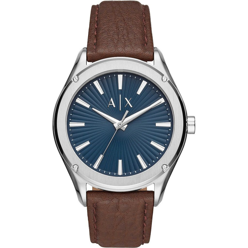 Armani Exchange Fitz Blue Brown Watch AX2804 Watches Armani Exchange
