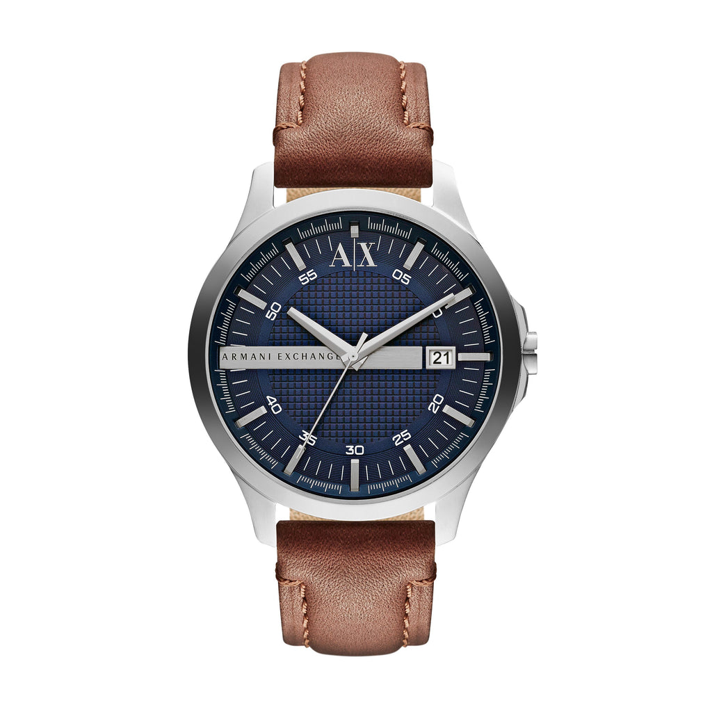 Armani Exchange Men's Leather Watch - AX2133 Watches Armani Exchange