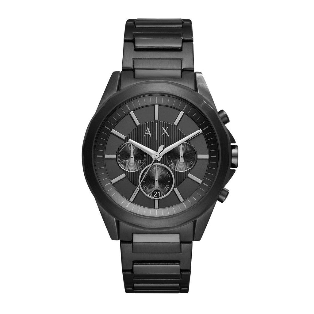 Armani Exchange Drexler Black Mens Watch Model AX2601 Watches Armani Exchange