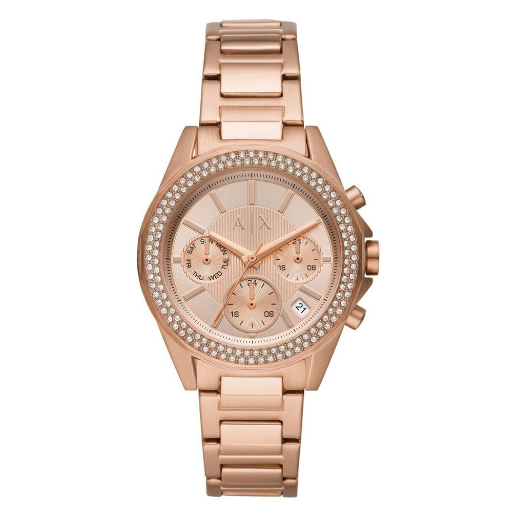 Armani Exchange Lady Drexler Rose Watch AX5652 Watches Armani Exchange