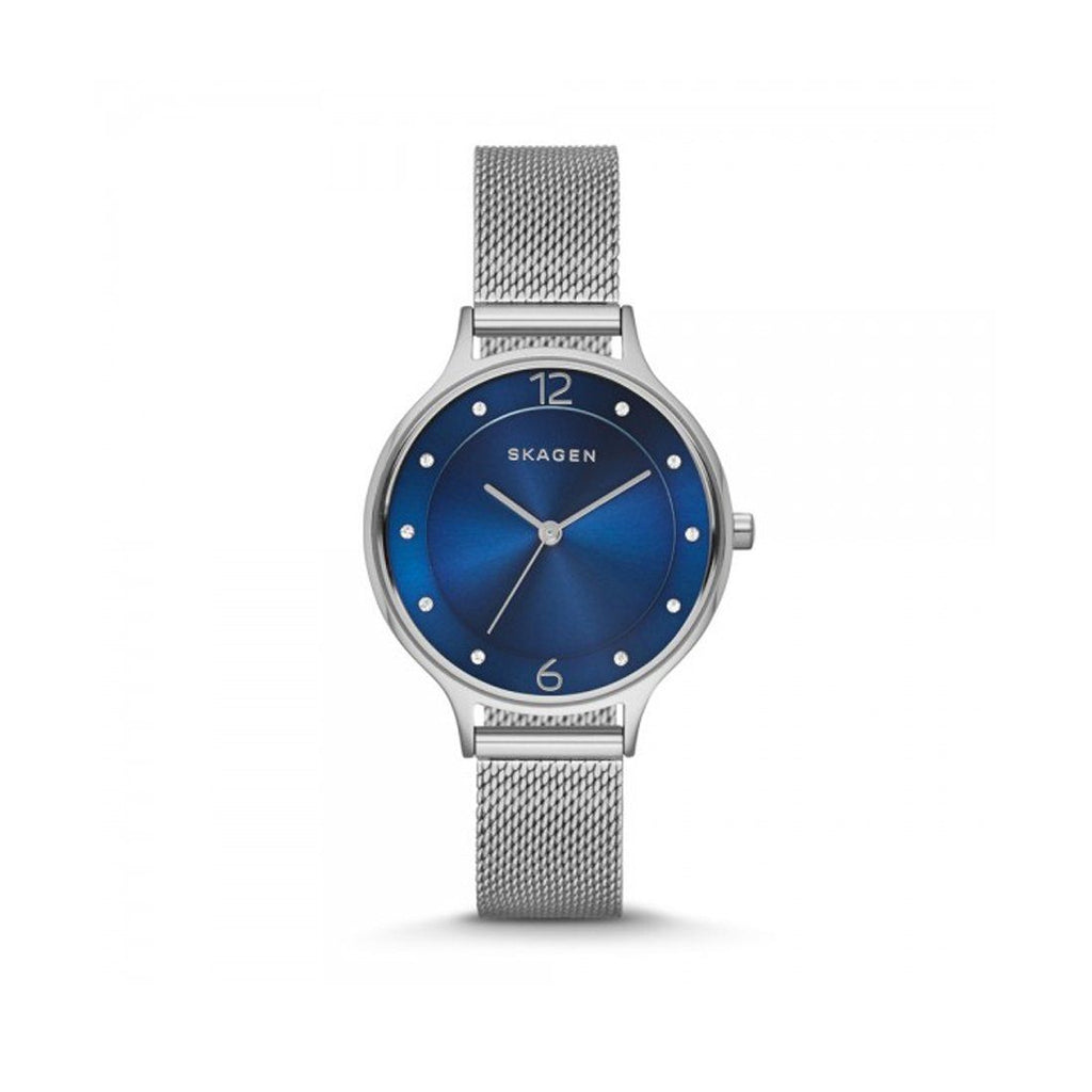 Skagen Anita Ladies Blue Dial Watch Model SKW2307