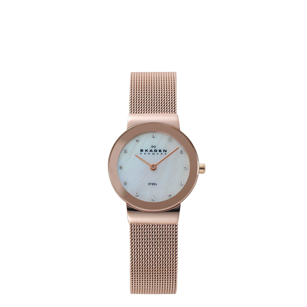 Skagen Women's Mother of Pearl Watch 358SRRD Watches Skagen
