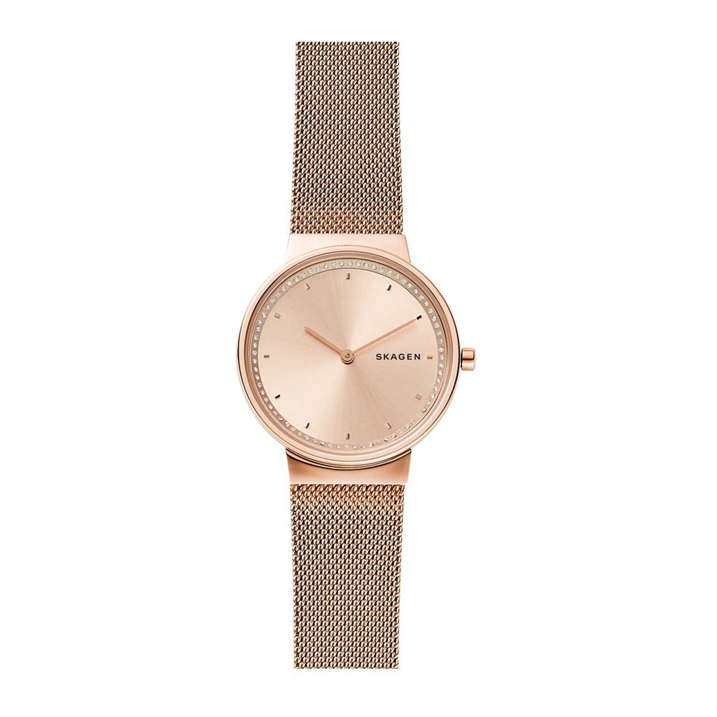 Skagen Annelie Ladies Rose Gold Tone Watch SKW2751