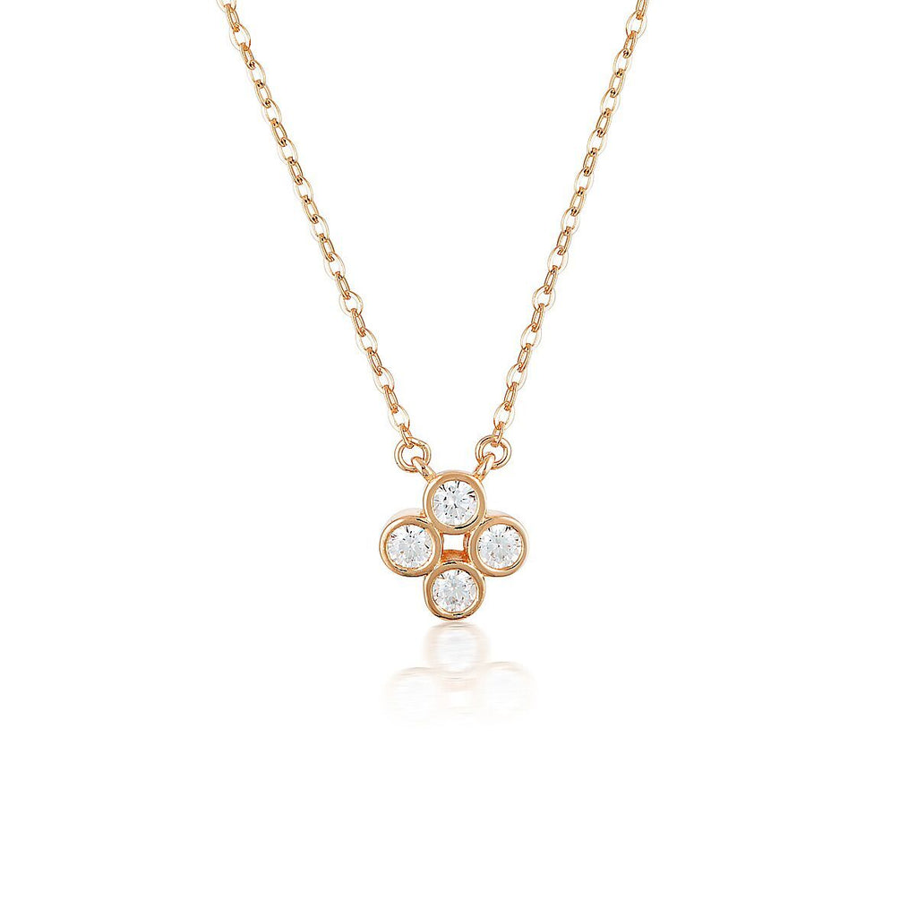 STELLAR LIGHTS ROSE GOLD TWINKLE PENDANT Bevilles Jewellers