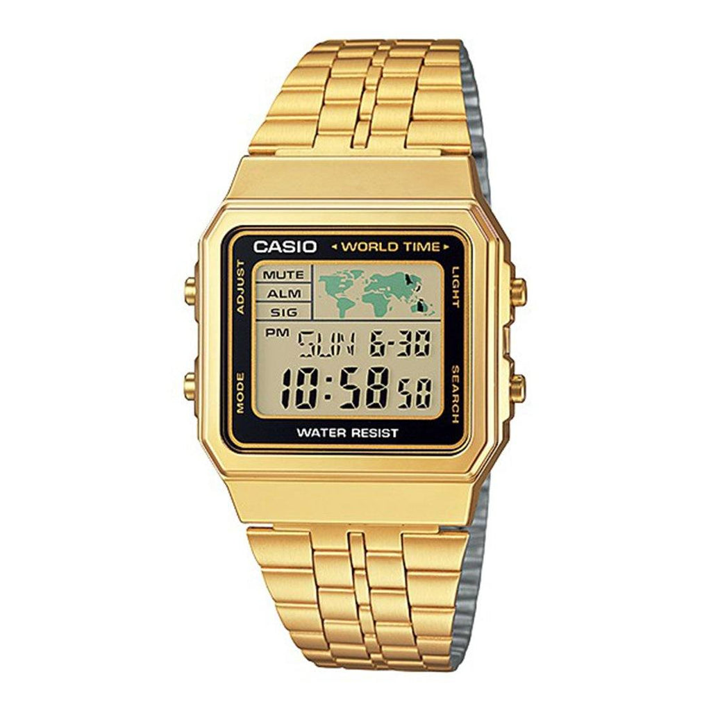 Casio Vintage Series Digital Gold Watch Model A500WGA-1DF