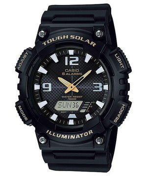 Casio Tough Solar Illuminator Black Watch AQS810W-1B