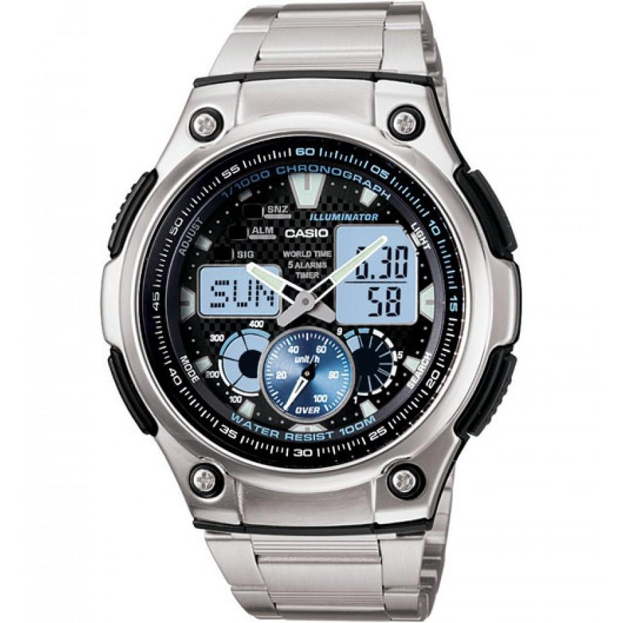 Casio Mens Analogue Watch Model- AQ190WD-1 Watches Casio