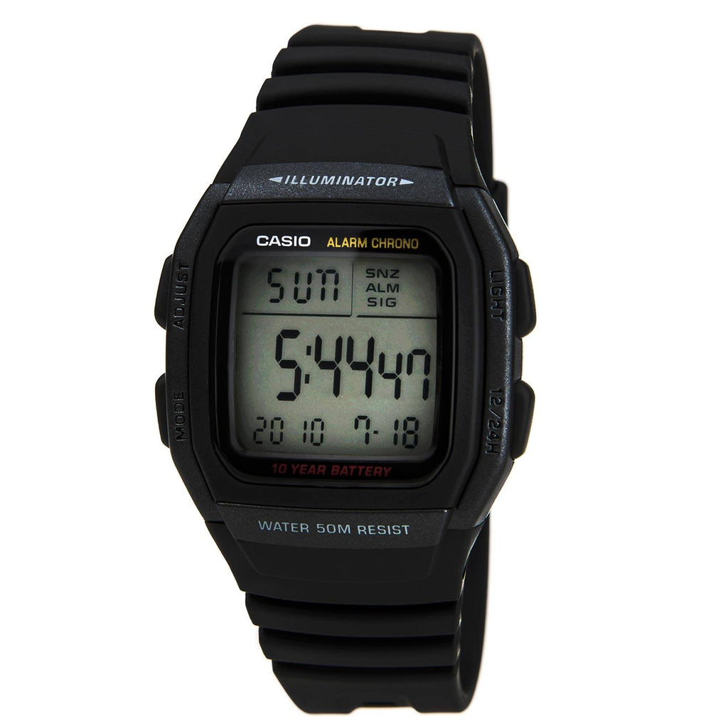 Casio Illuminator Watch Model- W-96H-1BVDF