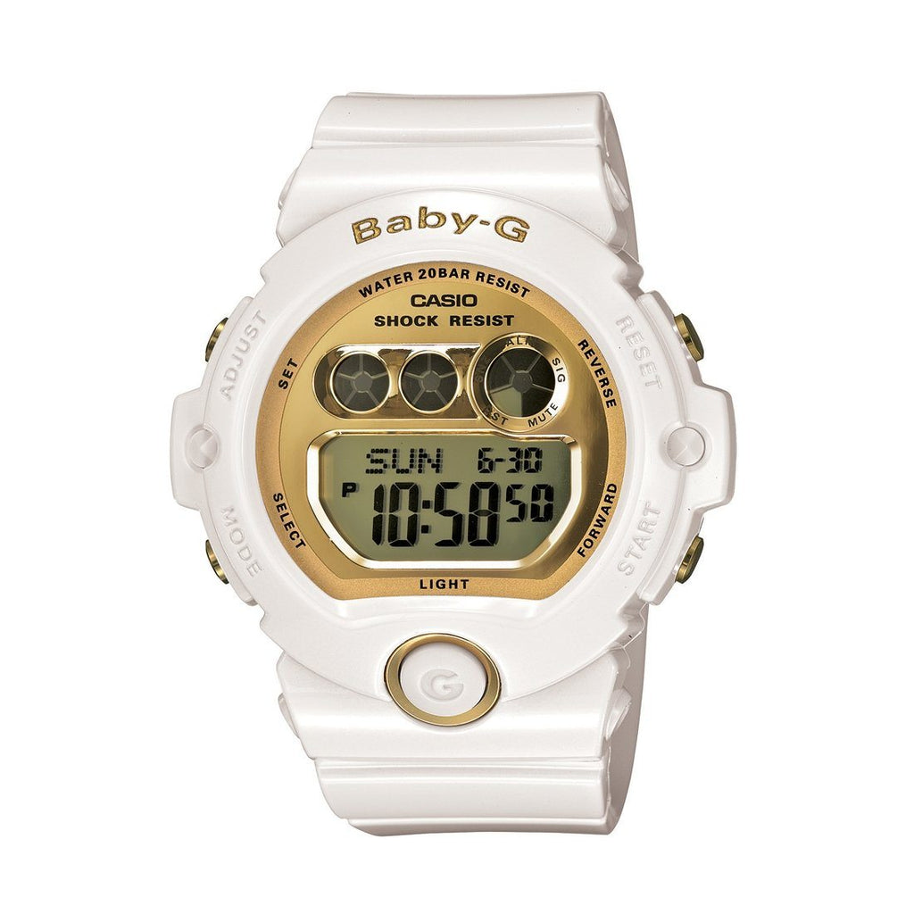 Casio Baby G Digital Gold White Watch BG6901-7D