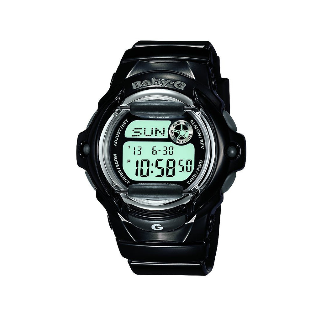 Casio Baby-G 200M Black Resin Band Watch