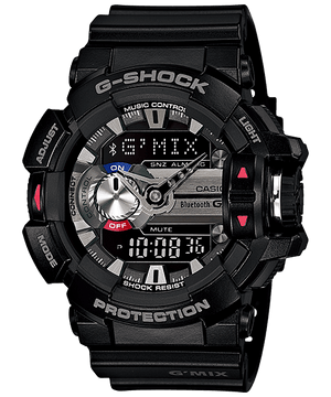 Casio G-Shock Bluetooth G'Mix Series Watch GBA-400-1A