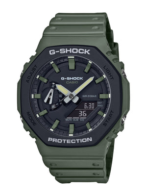 Casio G-Shock Green Watch GA2110SU-3A