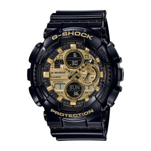 Casio G-Shock GA-140 Series Gold Watch GA-140GB-1A1DR