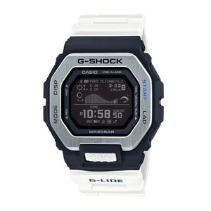 Casio G-Shock G-Lide White Band Digital Watch GBX100-7D