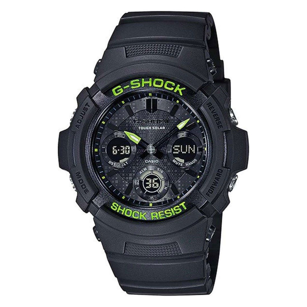 Casio G Shock Tough Solar Wave Ceptor Watch AWRM100SDC-1A Watches Casio