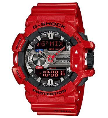 Casio G-Shock Digital Red Watch GBA400-4A Watches Casio