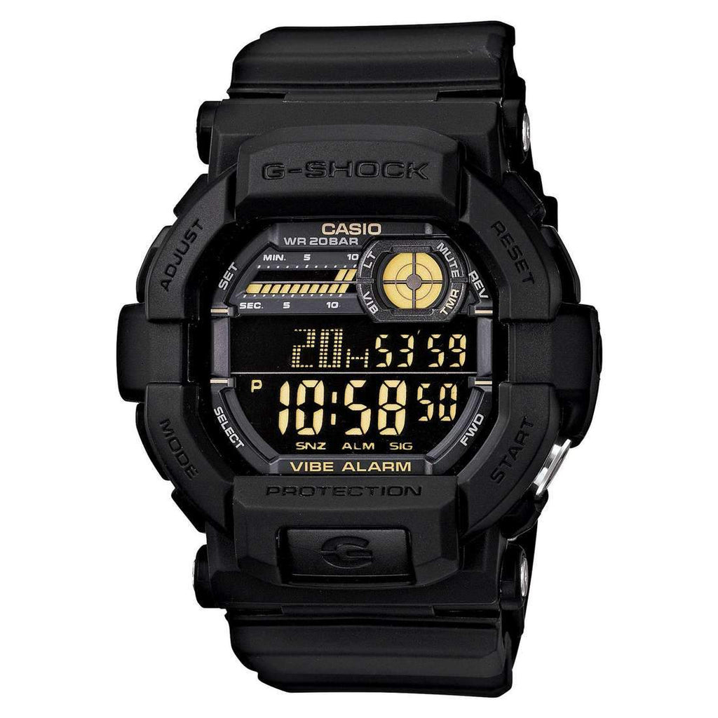 Casio G-Shock Black Digital Watch GD350-1B Watches Casio