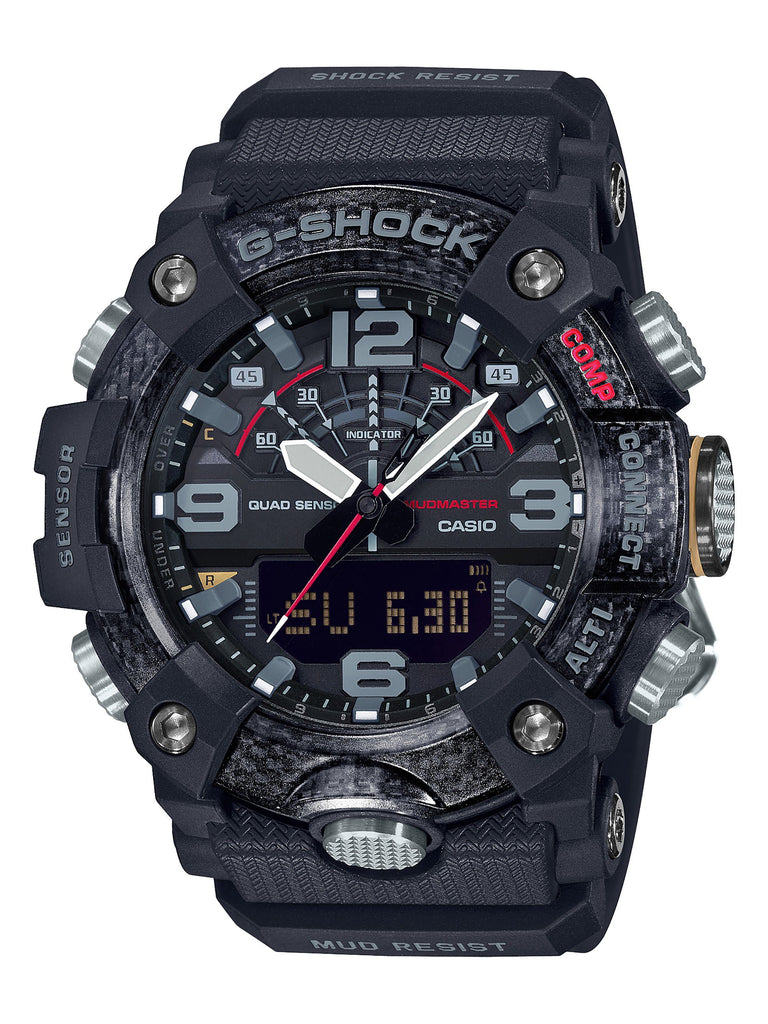 CASIO G SHOCK MASTER OF G MUDMASTER BLACK FACE CASE DIG ANA Watches Casio